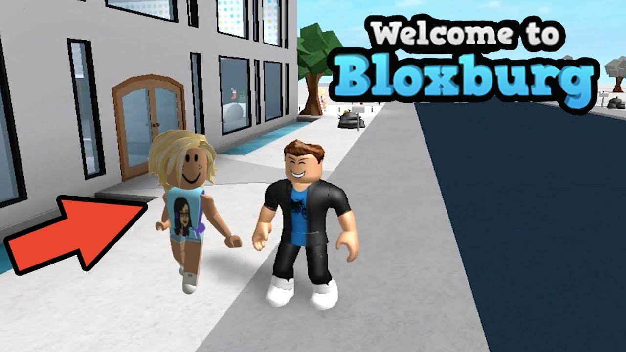 Playing Bloxburg With A Youtuber Roblox Gaming Video Fambam