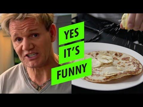 Gordon Ramsay's Crispy Pancake Recipe