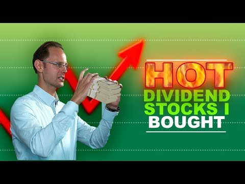3 DIVIDEND STOCKS I BOUGHT TODAY
