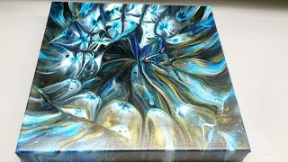 Kaleidoscope Pour ~ Easy Abstract Art / Acrylic Pouring / Fluid Art / Florida Artist