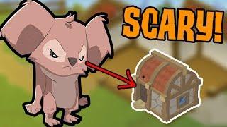 The Scariest Den Iฑ Animal Jam!!