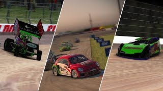 #DIRTNight | Red Bull GRC at Iowa | World of Outlaws at Volusia & Knoxville