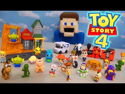 Toy Story 4 Movie Minis Figures Playset Blind Bag