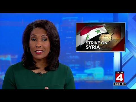 Strike on Syria: Metro Detroiters react to US attack