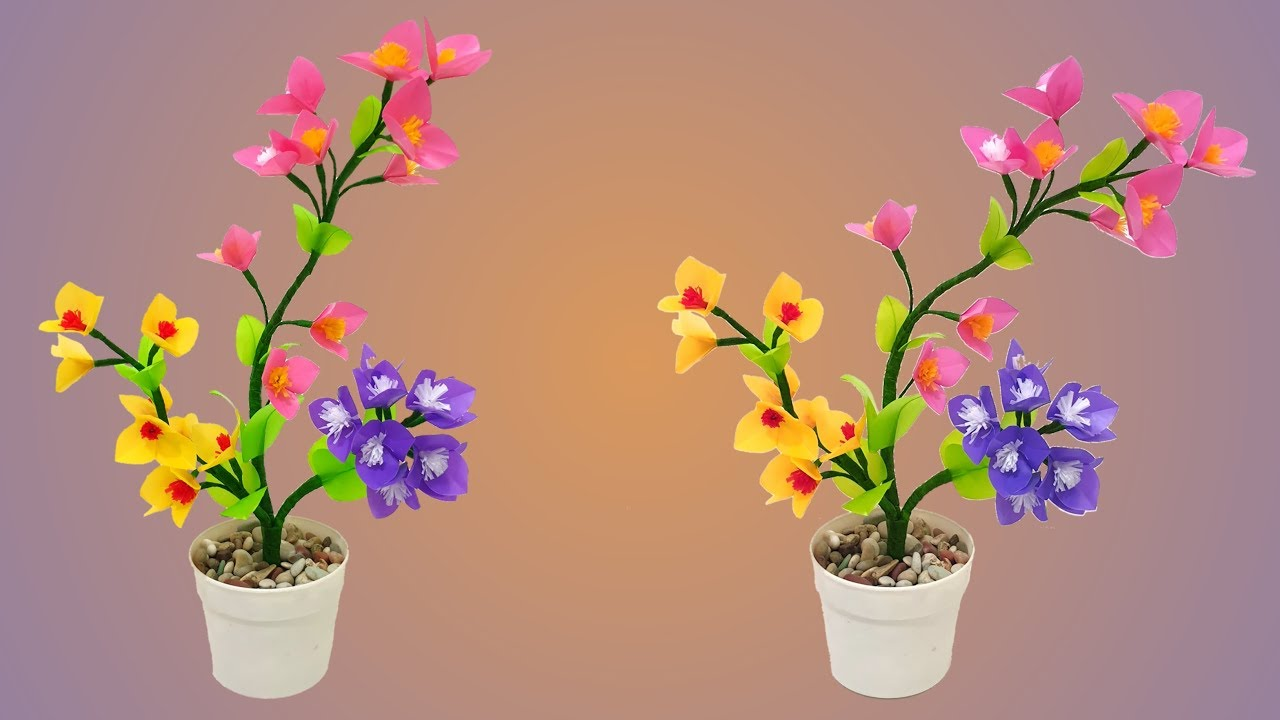 Cara Membuat Bunga Dari Plastik Kresek Yang Simple