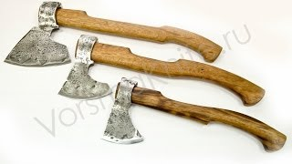 Таежный топор сталь 9ХС, ножи Ворсмы(Нужен настоящий топор? Смотрите: http://vorsmaknife.ru/category/topory/ Ссылка на видео:https://www.youtube.com/watch?v=qyLpDdb5bRo Подпишитесь., 2014-07-04T14:14:37.000Z)