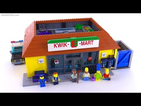 LEGO Simpsons KWIK-E-MART review set 71016