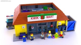 LEGO Simpsons KWIK-E-MART review! set 71016