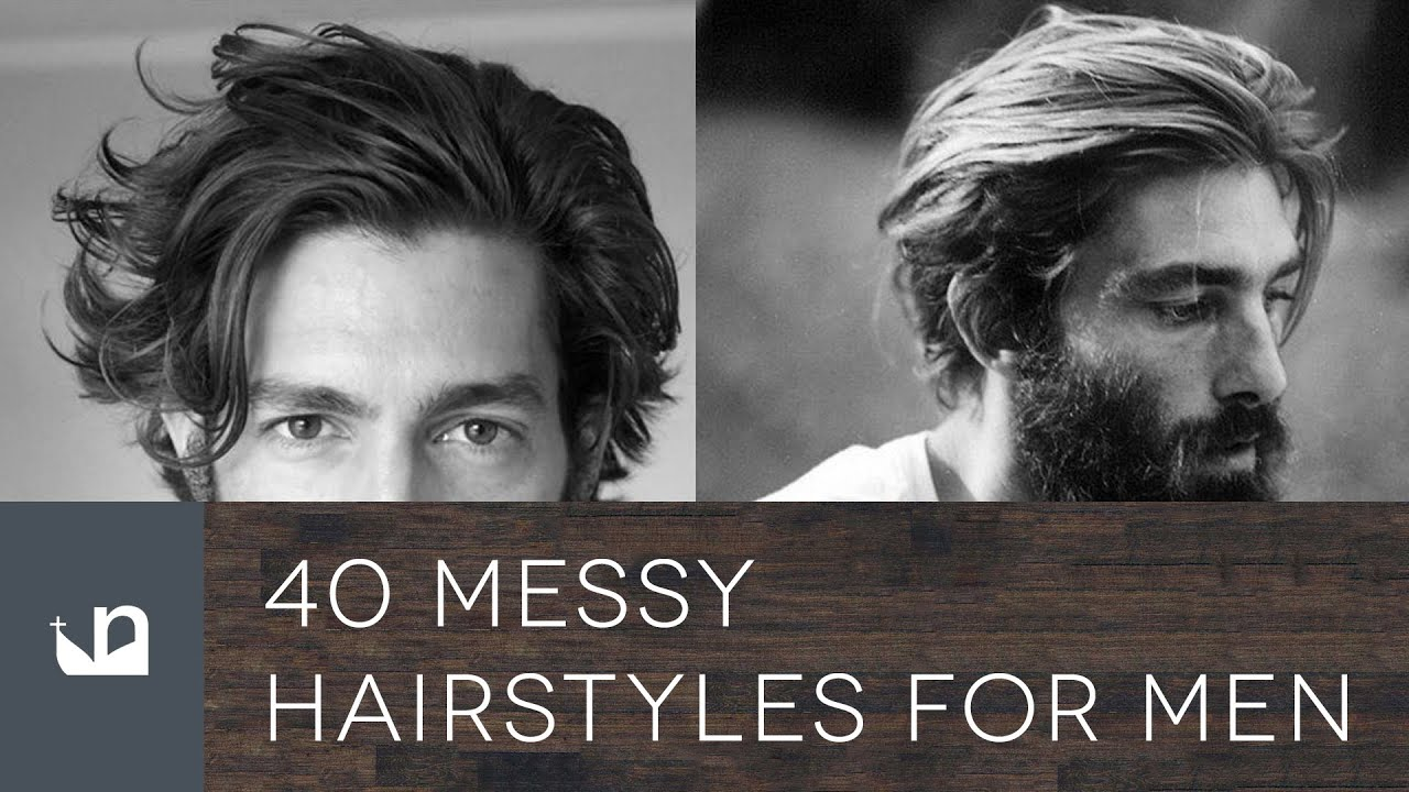 40 Messy Hairstyles For Men