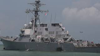 CNO RIchardson Announces Investigation, Operational Pause After USS John McCain Collision