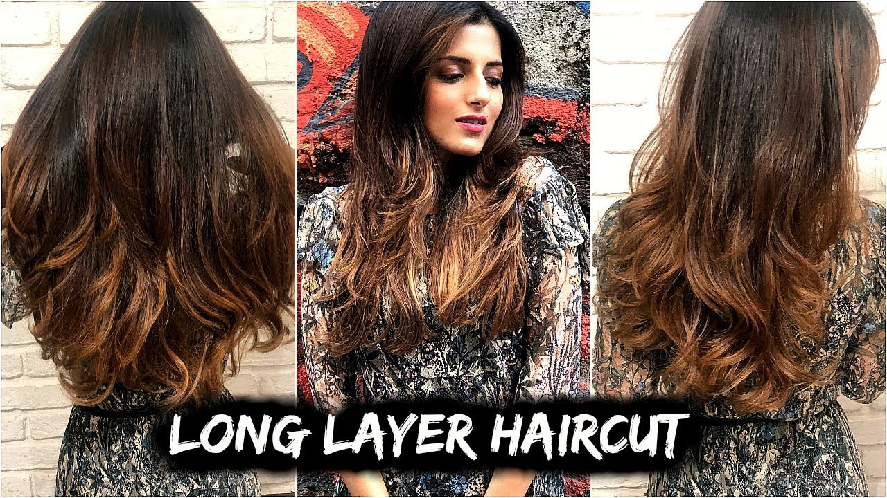Haircut Tips For Medium To Long Hair All About My New Haircut With Long Layers Step By Step