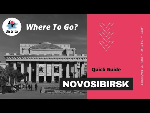 Where to go in Novosibirsk - places to see in Siberia's biggest city