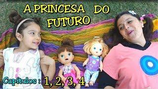 LUNA A PRINCESA QUE VEIO DO FUTURO - CAPÍTULOS : 1, 2, 3, 4