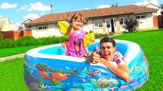 Діти Прикинься грати з надувним будиночком басейн іграшка