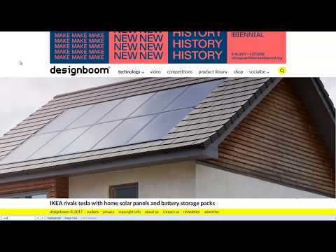 Ikea Home Solar System for $4000?