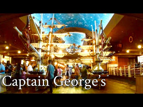 Captain George's  World Famous Seafood Buffet 🦀 | Myrtle Beach, SC