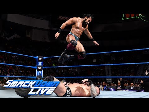 Randy Orton vs. Jinder Mahal: SmackDown LIVE, March 6, 2018