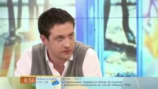 """Кирилл Сафонов. """"Доброе утро"""" 1 канал. 02.04.2013"""