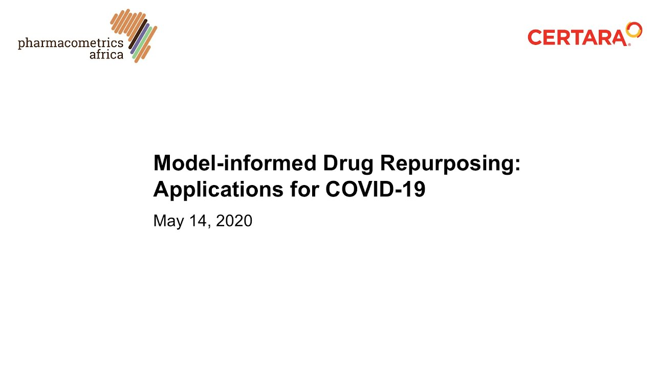 Photo of [Webinar] Model-informed Drug Repurposing – Applications for COVID-19