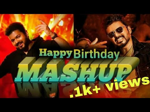 #thalapathybirthday Thalapathy Vijay Mashup Special Video Song | Vijay Fans Official | ❤️❤️