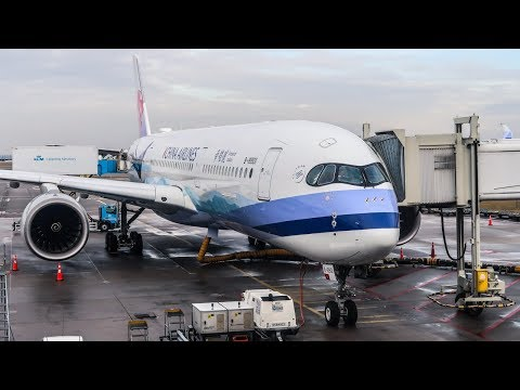 TRIP REPORT | China Airlines | Airbus A350-900 | Amsterdam -