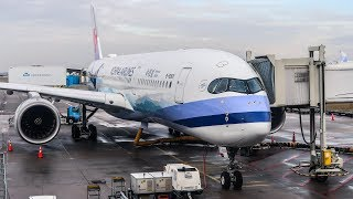 TRIP REPORT | China Airlines | Airbus A350-900 | Amsterdam - Taipei (AMS-TPE) | Economy Class