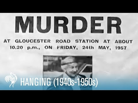 Hanging: U.K. Capital Punishment Legislation (1940's-1950's) | British Pathé