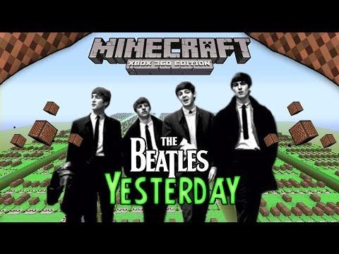 The Beatles - Yesterday | Minecraft Xbox 360 Noteblock Song |