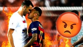 Neymar Jr ● Rude Moments, Best Fights & Brawls ● 15/16 | HD