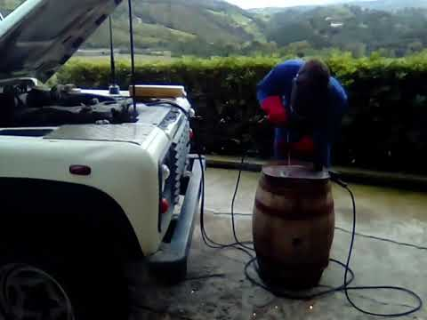 Land Rover Defender Td5 On Board Alternator Weldernator Welding