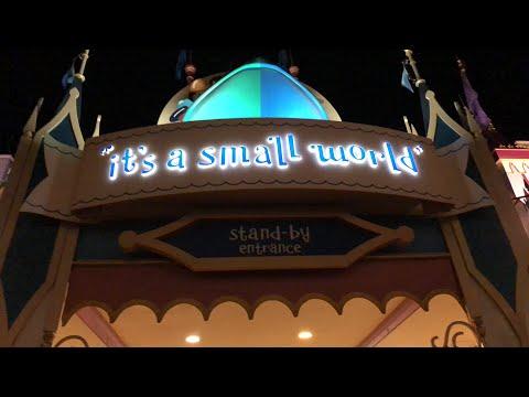 It's a Small World Live Stream 10-14-17 - Walt Disney World