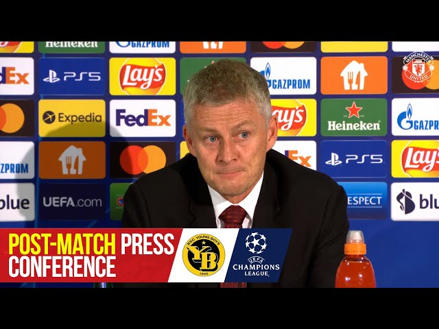 Ole Gunnar Solskjaer | Post Match Press Conference | Young Boys 2-1 Manchester United | UCL