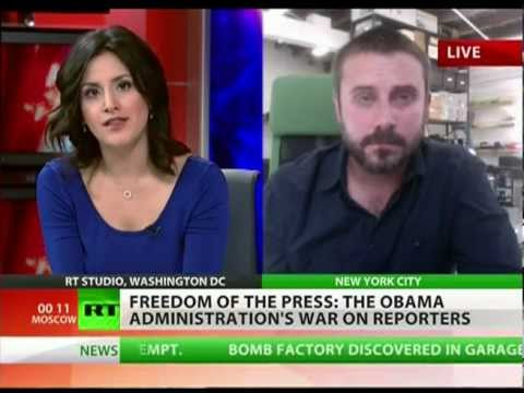 Jeremy Scahill: Obama insists to keep journalist in jail