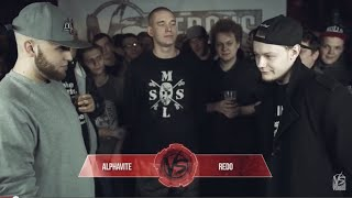 VERSUS: FRESH BLOOD (Alphavite VS Redo) Полуфинал