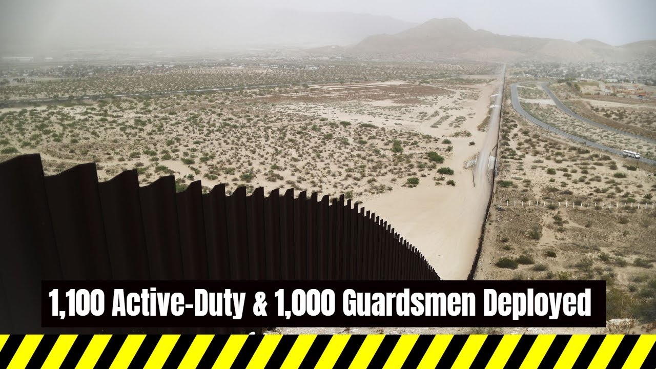 Headlines With A Voice U.S. Sends 2,100 More Troops to Southern Border