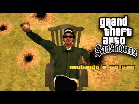 GTA SAN ANDREAS: Roubando O Tio Sam Ep-06