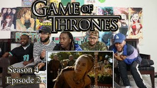 "Game Of Thrones Season 4 Episode 2 ""The Lion And The Rose""  Reaction Review"
