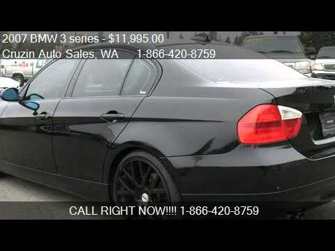 2007 BMW 3 series 328i  for sale in Tacoma WA 98444  YouTube