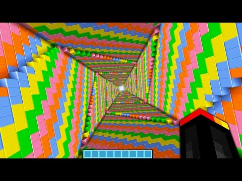 UNLIMITED DROPPER IN MINECRAFT!