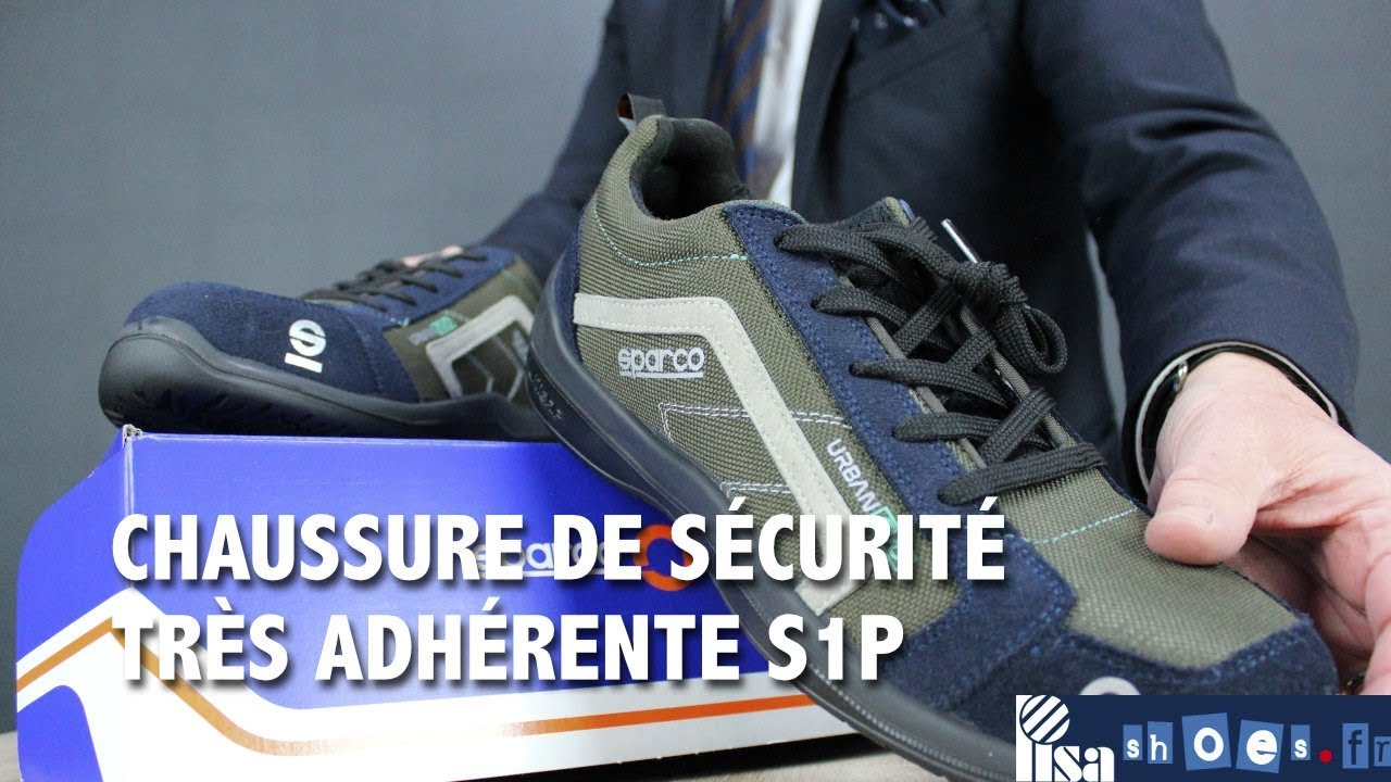 URBAN CHAUSSURE SPARCO DE YouTube SECURITE GRIS BLEU qHwvZnR7H
