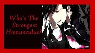 Ranking The Homunculi from Weakest to Strongest (Fullmetal Alchemist Brotherhood)