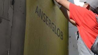 Инструкция по монтажу системы скрепленной теплоизоляции  ANSERGLOB (отделка мозаичной штукатуркой)
