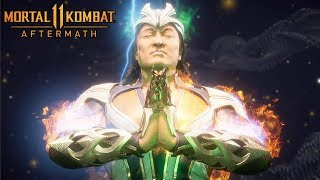 Mortal Kombat 11 AFTERMATH (2020) Full Movie All Cutscenes @ 1080p ✔
