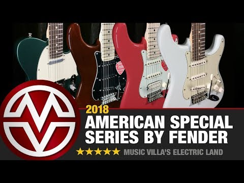 2018 Fender American Special Series Review!