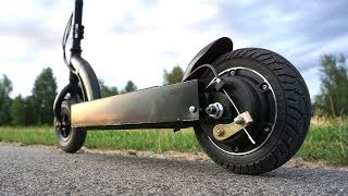 Making Electric Scooter using a Gearless Motor