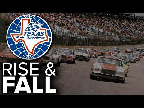Texas World Speedway - The Rise and Fall