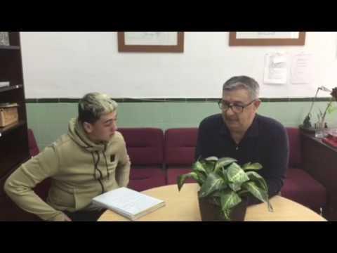 Entrevista a Antonio Vico, antiguo profesor del IES La Paz