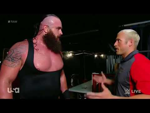 Braun Strowman DESTROYS Kevin Owens car FULL SEGMENT RAW  June 25, 2018