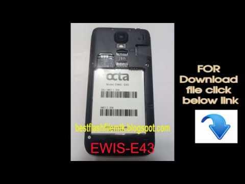 octa ewis e43 flash file 100000000% tested