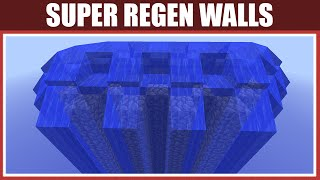 Minecraft: Super Regen Walls [Twice As Strong As Regen Walls!] [Tutorial] [1.7/1.8+]